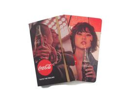 Coca-Cola Set of 2 Journals Taste the Feeling   - BRAND NEW - $15.35