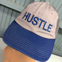 Hustle Two Tone Strapback Baseball Hat Cap - $17.07