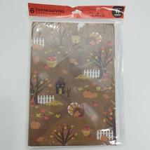 Thanksgiving Hallmark Cards New Sealed Pumpkin Turkey Acorns Fall Harvest - $6.50