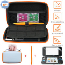 For Nintendo New 2DS XL/LL Travel Carrying Case Bag+Screen Protector+Stylu - $32.90
