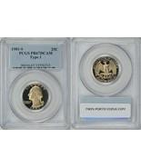 1981-S 25c Washington Quarter Type 1 PCGS Proof-67 - $15.88