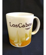 Los Cabos Starbucks Mug Made Mexico 2009 Ultra Rare Yellow Version Icon ... - $1,683.00
