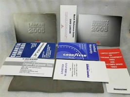 Owners Manual Set With Case 9290A069 ( 9290B018 ) 2005 Mitsubishi Lancer 15450 - $19.79