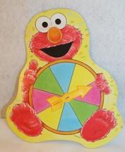 Sesame Street Elmo's Birthday Game Replace Elmo Spinner Milton Bradley V... - $9.95