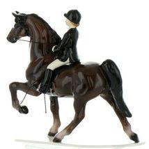 Hagen Renaker Specialty Horse Dressage with Rider Ceramic Figurine image 8