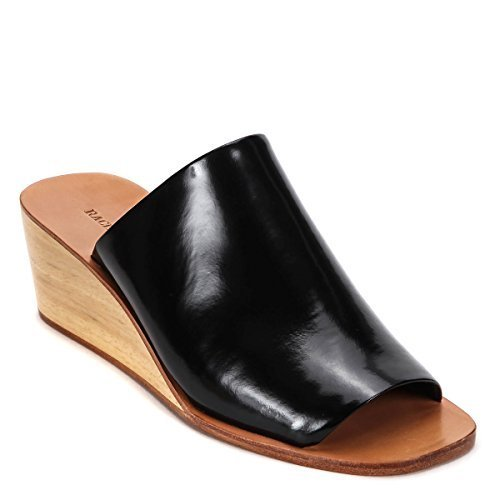 Rachel Comey Women's LYELL Wedge Mule Shoes 42-122 (US 9 M, Black)