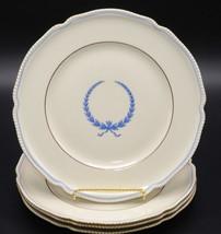"Rosenthal Empire * 4 SALAD PLATES * 7 7/8"", Blue Wreath, Excellent - $46.99"