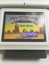 Warioland 4 wario Nintendo GameBoy advance GBA  Authentic game only  - $19.80