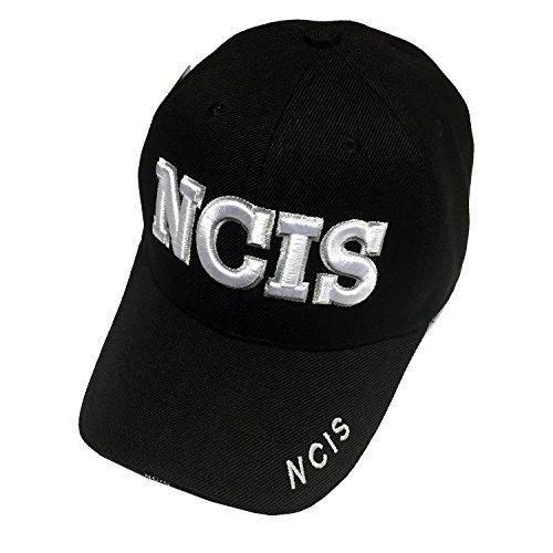 NAVY Gear U.S. Military NCIS Hat - U.S. NAVY NCIS Special Agent Black Baseball C for sale  USA