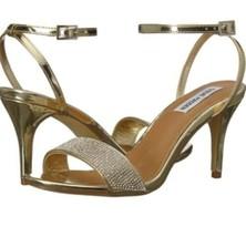 Steven madden morgyn sandals size 8.5 gold Size 8.5 NIB - $42.74