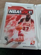 Nintendo Wii NBA 2K11 ~ COMPLETE image 2