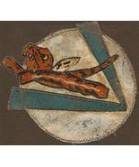 WWII Patch, AVG Flying Tigers Group Patch LEATHER - $450.00