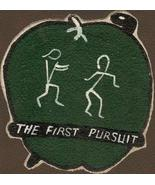 WWII Patch, AVG Flying Tigers - 1st Pursuit SQdrn  Adam & Ev - $225.00