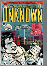 ADVENTURES INTO THE UNKNOWN #172-HORROR/SCI-FI-SILVER AGE-VG- VG- - $24.83