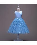 Off Shoulder Kids Party Dress Floral Flower Girls Dresses Pageant Gowns ... - $33.99