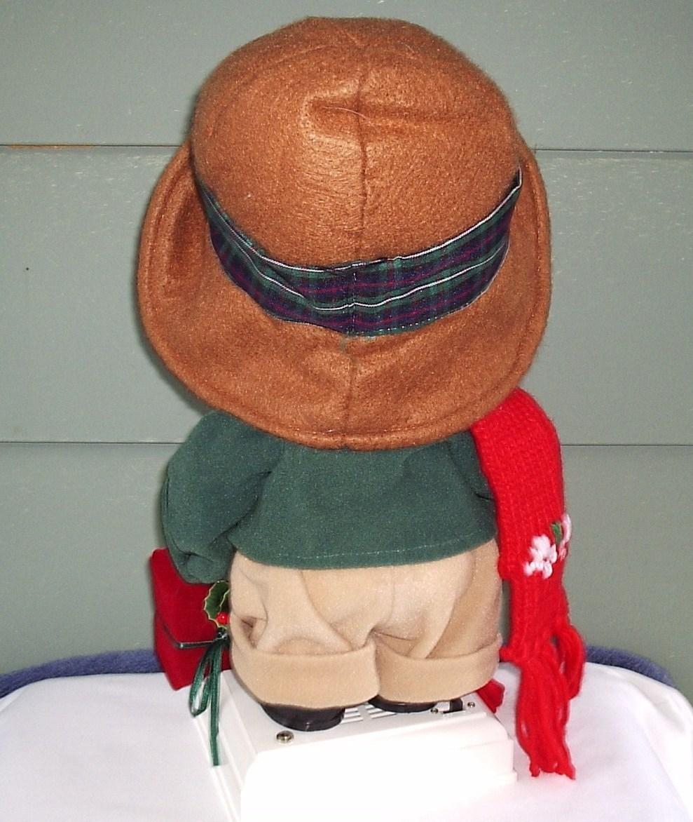 Christmas Animated Girl Doll Display Collector Item