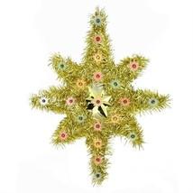 "Northlight 21"" Gold Star of Bethlehem Christmas Tree Topper - Multi-Colo... - $29.69"