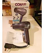 Conair Cord Keeper Folding Hair Dryer 169PL 1875 Watts - $24.70
