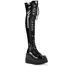 Demonia SHAKER-374 Women's Over-the-Knee Boots B - $111.95