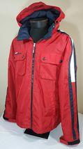 VTG Tommy Hilfiger Jacket Flag Windbreaker Colorblock 90's Spell Out XL Coat image 4
