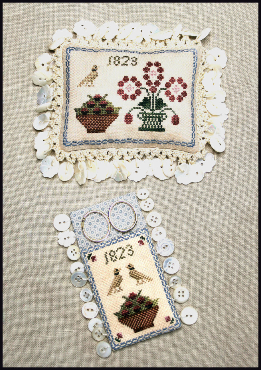 Primary image for Ann Blockley's Pin Cushion & Scissor Keep cross stitch chart Milday's Needle