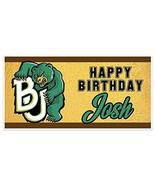 Baylor Birthday College Football Banner Party Decoration Backdrop - $22.28