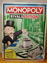 Monopoly Rivals Edition 2 Player Game Hasbro Gaming New Factory Sealed - $23.76