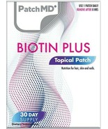 New Formula! PatchMD Biotin Plus Patch 30-patches Patch-MD BIO - $14.99