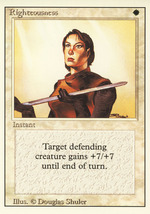 Magic: The Gathering 3rd Edition - Righteousness - $0.79