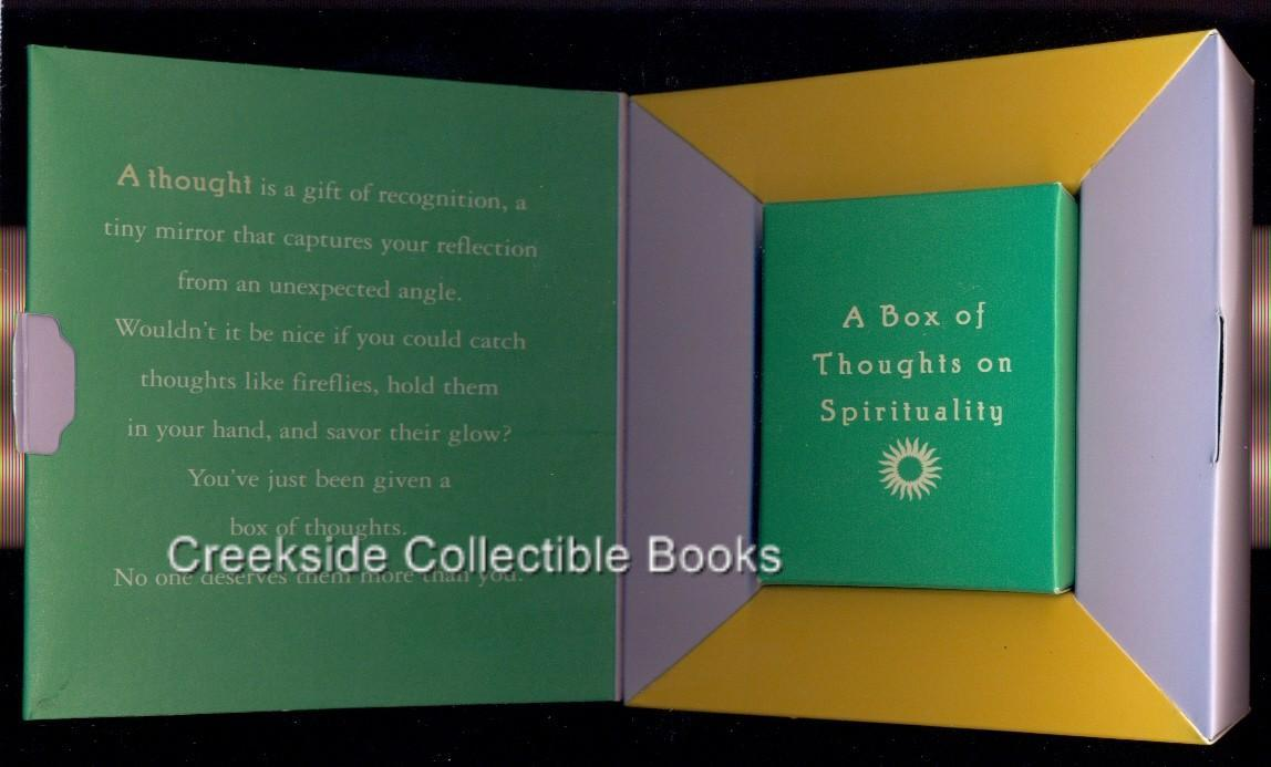 A box of thoughts open