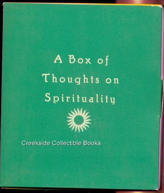 A Box of Thoughts on Spirituality Howard Klein Cards