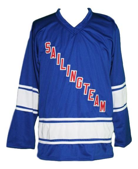 Lil boat  69 custom sailing team retro hockey jersey blue   1