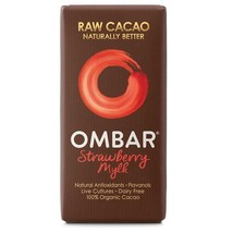 Ombar Strawberry Mylk Raw Chocolate Bar 35g - $6.64