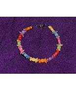 Goldfish Bracelet Handcrafted Colorful - $7.97
