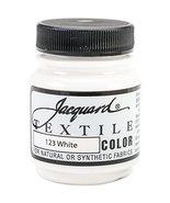 Jacquard Products Jacquard Textile Color Fabric Paint, 2.25-Ounce, White - €3,54 EUR