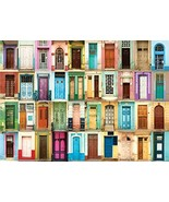 All The Doors 1000 Piece Jigsaw Puzzle [Hardcover] Peter Pauper Press - $15.99