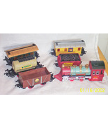 Spirit of Steam Bat Op toy train no track plastic 6 pcs - $20.00
