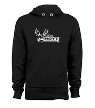 Hoyt Archery Hunting Bows Pullover Hoodie Hooded Jacket Sweats Black - $27.70+