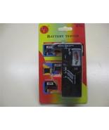battery tester checker 1.5 volt 9 volt  Free Sh... - $11.95