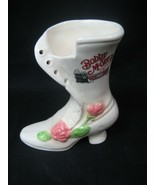 Bobby McGees Conglomeration Women's White Shoe Boot Ceramic Bar Mug Mexico - $12.16