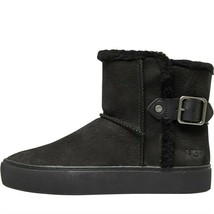 UGG Womens Aika Suede Boots black  - $179.00