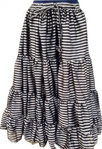 SteamPunk Paris Striped 25Yard Tribal Fusion Gypsy ATS Skirt~ - $99.99