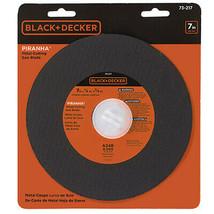 "BLACK+DECKER 7"" Metal Cut Blade new nip - $4.17"