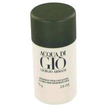 ACQUA DI GIO by Giorgio Armani Deodorant Stick 2.6 oz for Men #416538 - $40.58
