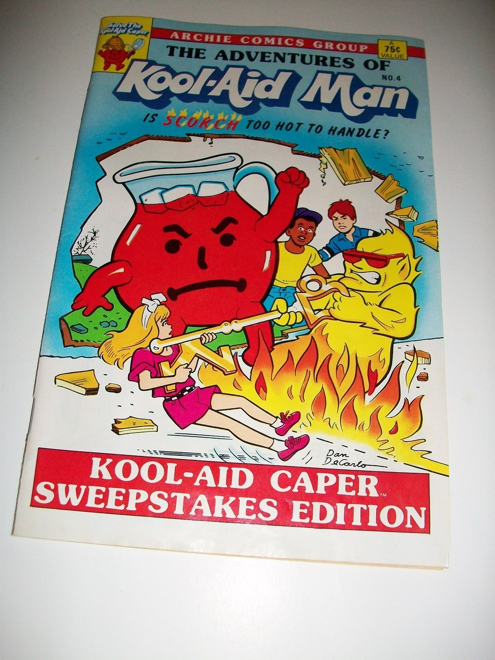 ADVENTURES OF KOOL-AID MAN #4