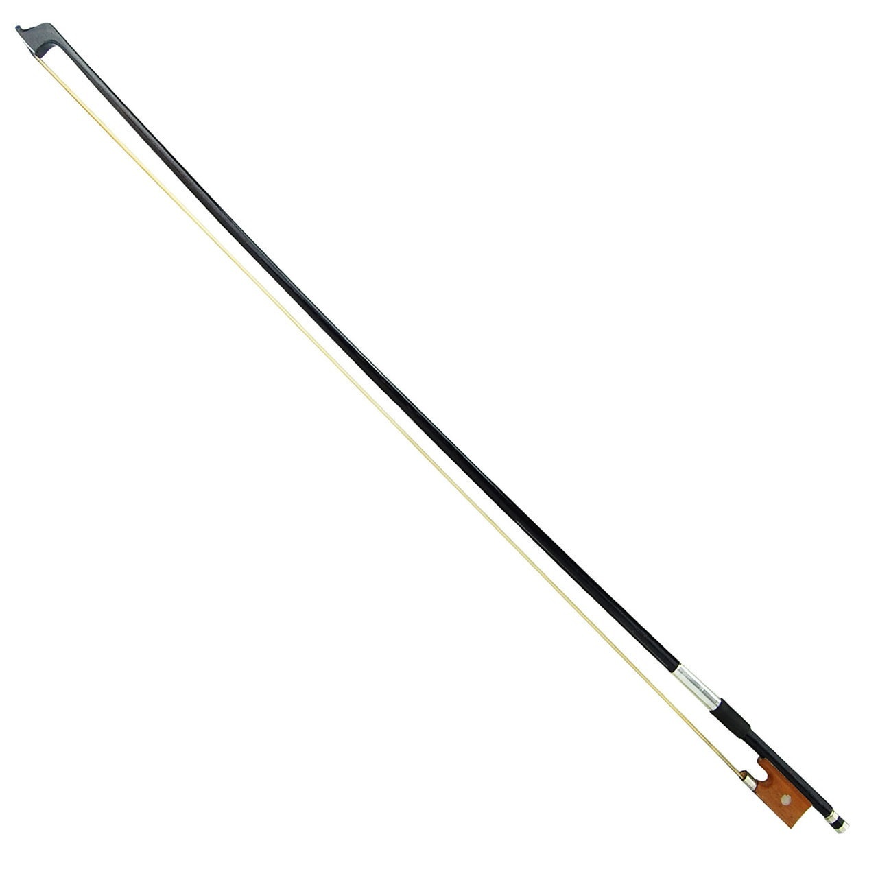 4/4 Size BLACK Stick Violin Bow for Student, Beginner, Starter, Adult