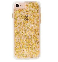 Case Mate Karat Protective Hard Shell Ultra Slim Case iPhone 7, 6S, 6  Gold - $6.39