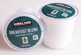 New Kirkland Breakfast Blend Light Roast Coffee Keurig 120 K-Cup Pods Exp 03/21 image 2