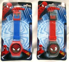 Unisex Set of Ultimate Spider-man LCD Watch Wristwatch LCD Digital Watch... - $49.49