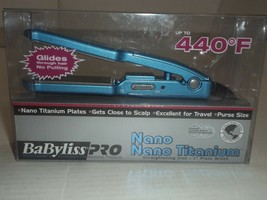 BaByliss PRO Nano Titanium Mini Straightening Iron (1 inch)Excellent for... - $23.19